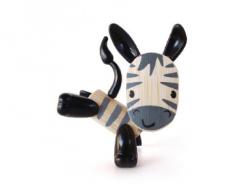 Hape Zebra zebra lesena figurica eigrace