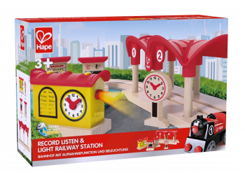 Hape Železniška postaja - Posnemi in poslušaj