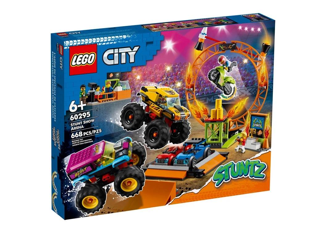LEGO City Kaskaderska arena 60295 eigrače
