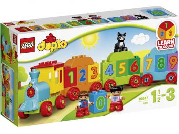 LEGO Duplo Številski vlak 10847
