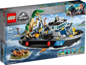 LEGO Jurassic World Pobeg barioniksa z ladje 76942