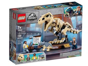 LEGO Jurassic World Razstava fosilov T-Rexa 76940