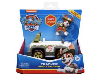 Paw Patrol figura Tracker z vozilom
