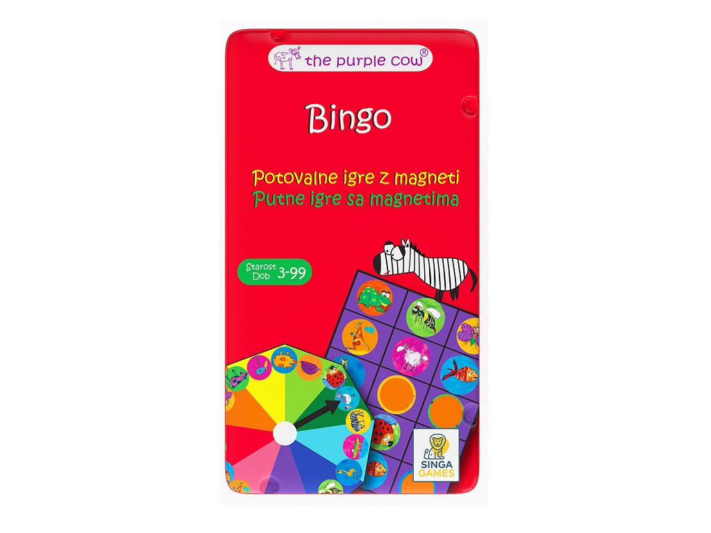 Potovalna igra Bingo eigrače