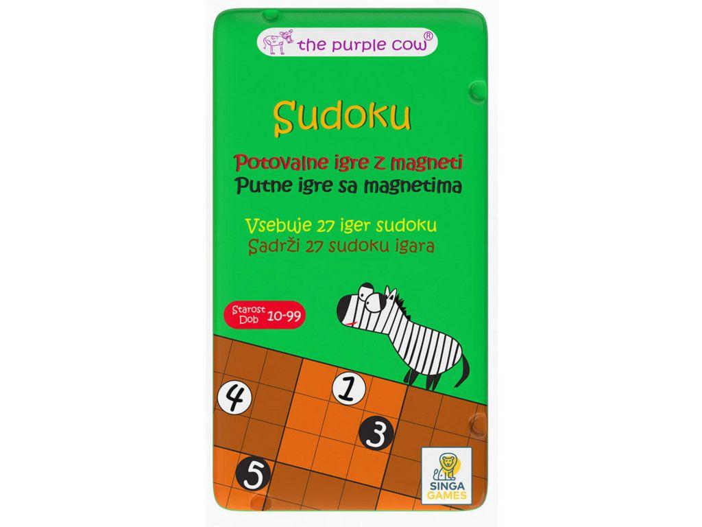 Potovalna igra Sudoku