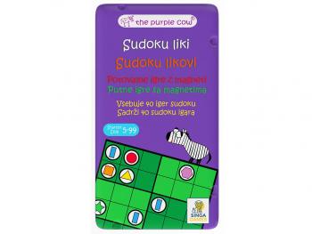 Potovalna igra Sudoku liki