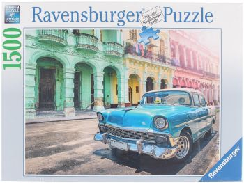 Sestavljanka Avtomobili na Kubi 1500d