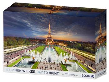 Sestavljanka Eiffel Tower Stephen Wilkes 1010d