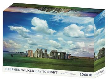 Sestavljanka Stonehenge Stephen Wilkes 1060d