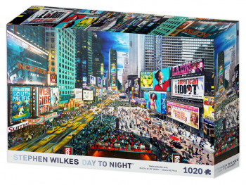 Sestavljanka Times Square Stephen Wilkes 1007d