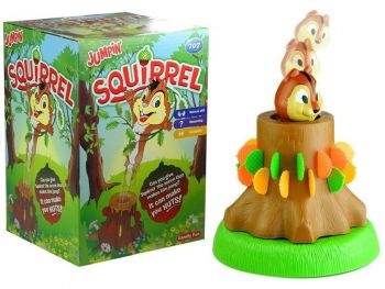 Skakajoča veverica družabna igra