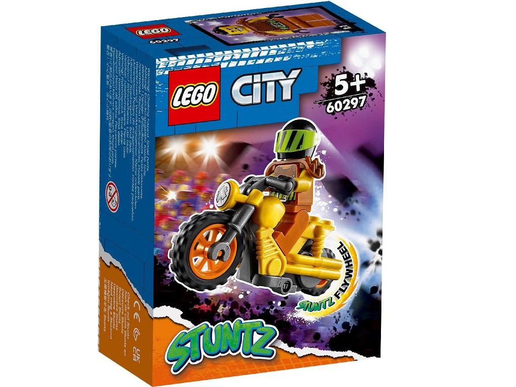 LEGO City Kaskaderski motor 60297