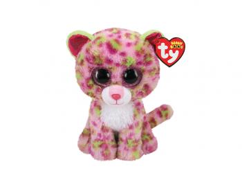 Igrače Ty Pliš Leopard roza 15cm