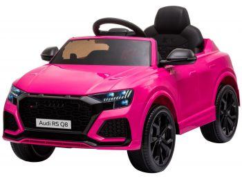 Otroški avto na akumulator Audi RS Q8 Pink