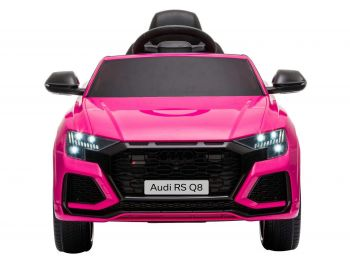 otroški avto audi rs q8 pink