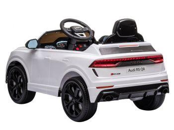 Otroški avto na akumulator Audi RS Q8 Bel