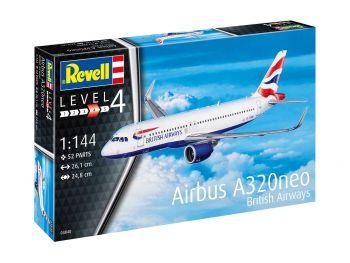 Revell Airbus A320neo British Airways 03840