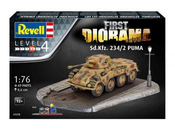 Revell First Diorama Sd.Kfz 234/2 Puma 03298