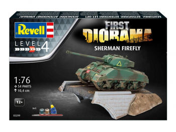 Revell First Diorama Sherman Firefly 03299