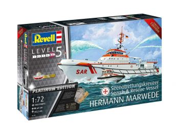 Revell Search&Rescue Vessel Hermann Marwede 05198