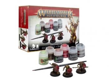 Warhammer Age of Sigmar Gutripaz - set z barvami