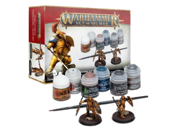 Warhammer Age of Sigmar - Vindictors - set z barvami
